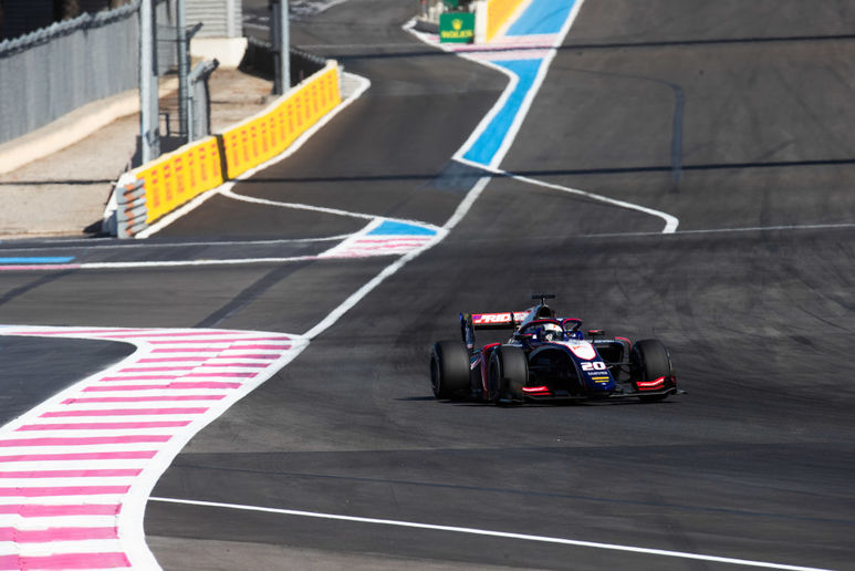 F2 TRIDENT - LE CASTELLET FEATURE RACE REPORT