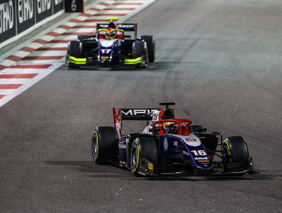 F2 TRIDENT - ABU DHABI FEATURE RACE