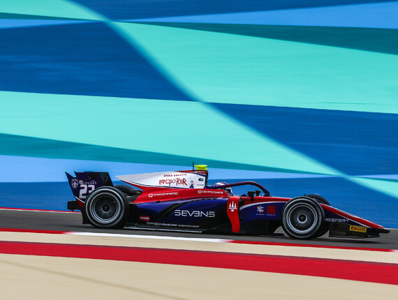 FIA F2 Championship, Bahrain, Feature Race Report