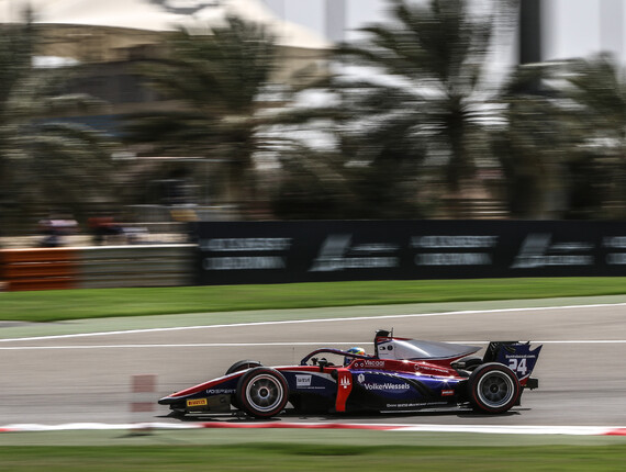 FIA F2 Championship Bahrain Feature Race Report