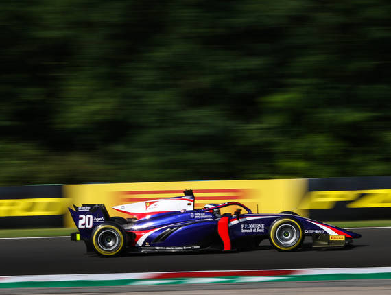 F2 TRIDENT - BUDAPEST FEATURE RACE REPORT