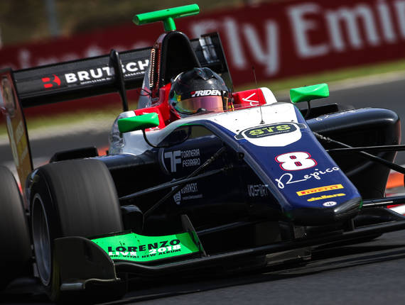 GP3 TRIDENT - BUDAPEST FEATURE RACE