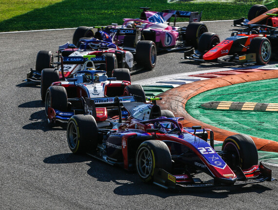 FIA F2 Championship, Monza, Feature Race Report