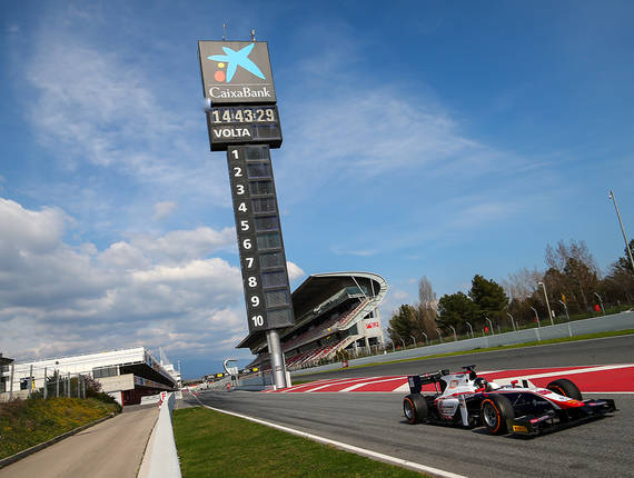 F2 & Gp3 Trident - Barcellona Preview