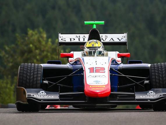 Gp3 Trident - Spa Francorchamps Race 1
