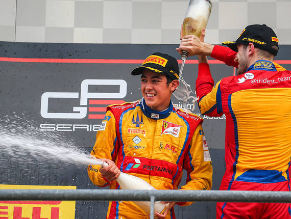 Gp3 Trident - Spa Francorchamps Race 2
