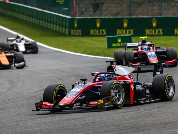 FIA F2 Championship, Spa-Francorchamps, Feature Race Report
