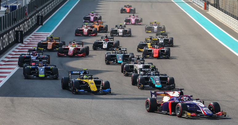 F2 TRIDENT - ABU DHABI RACE TWO