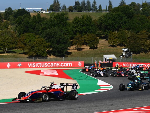 FIA F3 Championship, Mugello, Race One Report