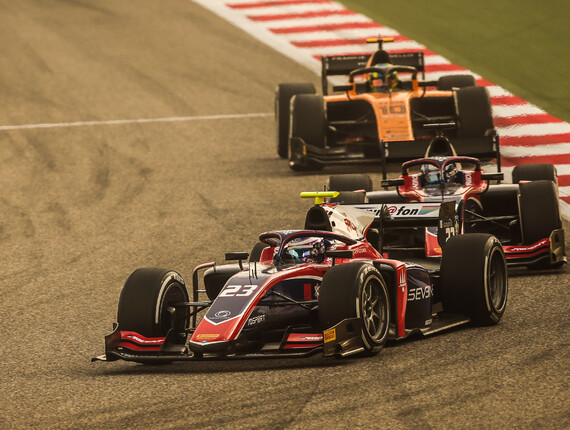 FIA F2 Championship, Sakhir Outer Track, Sprint Race Report