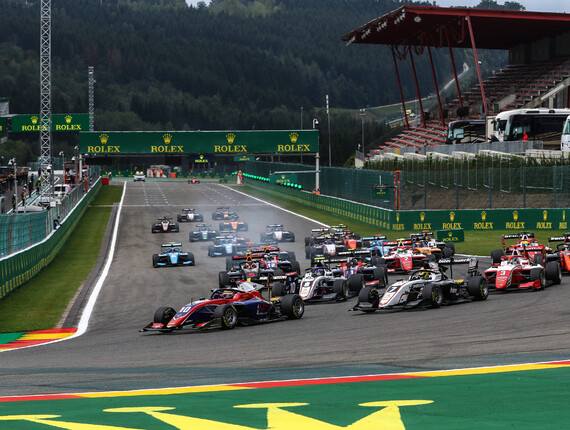 FIA F3 Championship, Spa-Francorchamps, Race Two Report
